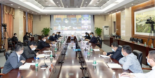 船舶集团召开统筹推进规划建设领域疫情防控和重点工作视频交流会