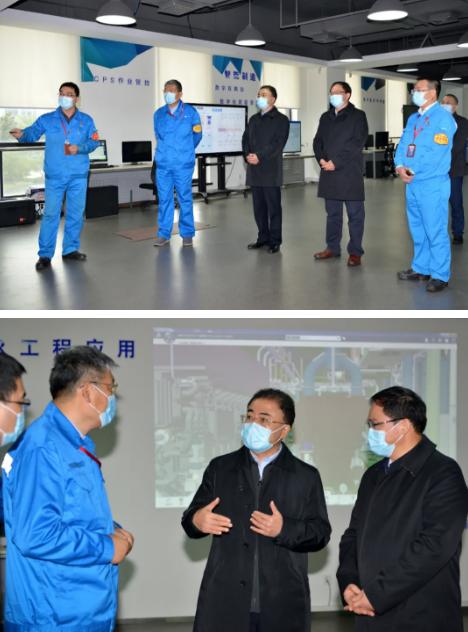 国务院国资委副主任翁杰明调研中国船舶江南造船